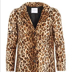 Velvet By Graham &Spencer Leopard Jacket